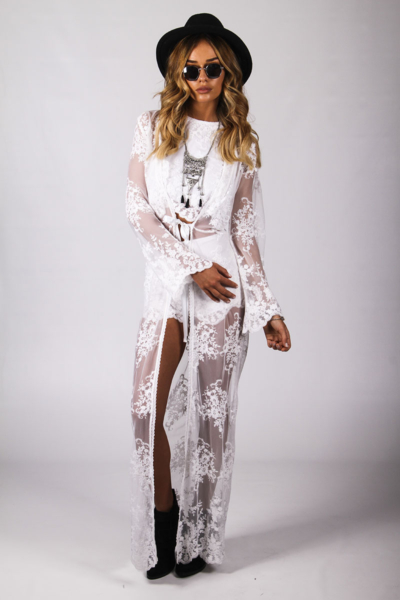 Wanderer Kimono White