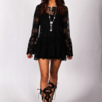 Spellbound Dress Black