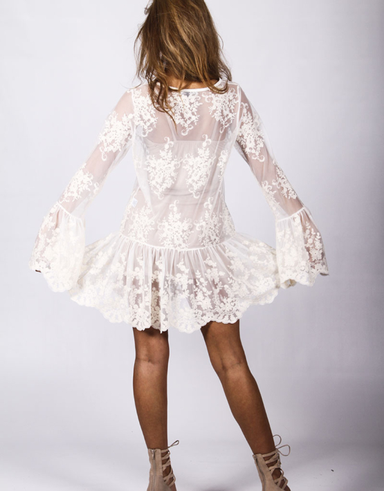 Spellbound Dress Ivory