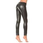 Freddy Pants Black Faux Leather Skinny Pants