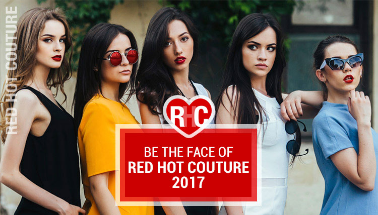 Face of Red Hot Couture 2017