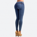 Classic Push Up Jeans Blue