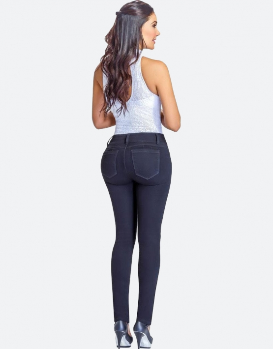Black Push Up Jeans